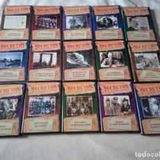 Cine: DVD SECRETOS DE LA 2ª GUERRA MUNDIAL II WW BBC SERIE COMPLETA EN 15 DISCOS DVDS. Lote 183430671