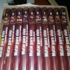 Cine: ESTUCHE CON 10 DVD COMPLETO. MATAR PARA VIVIR. . Lote 183454567