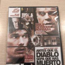 Cine: ANTES QUE EL DIABLO SEPA QUE HAS MUERTO (DVD NUEVO). Lote 183526711