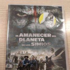 Cine: EL AMANECER DEL PLANETA DE LOS SIMIOS (DVD NUEVO). Lote 183527005