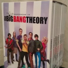 Cine: BIG BANG THEORY TEMPORADAS 1-9 DVD. Lote 183529917