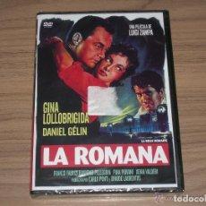 Cine: LA ROMANA DVD GINA LOLLOBRIGIDA NUEVA PRECINTADA. Lote 269216303