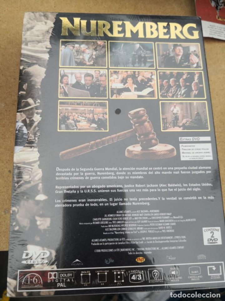 Cine: NUREMBERG pack 2 DVDs Edicion de Lujo Alec Baldwin. Nuevo - Foto 2 - 183562663