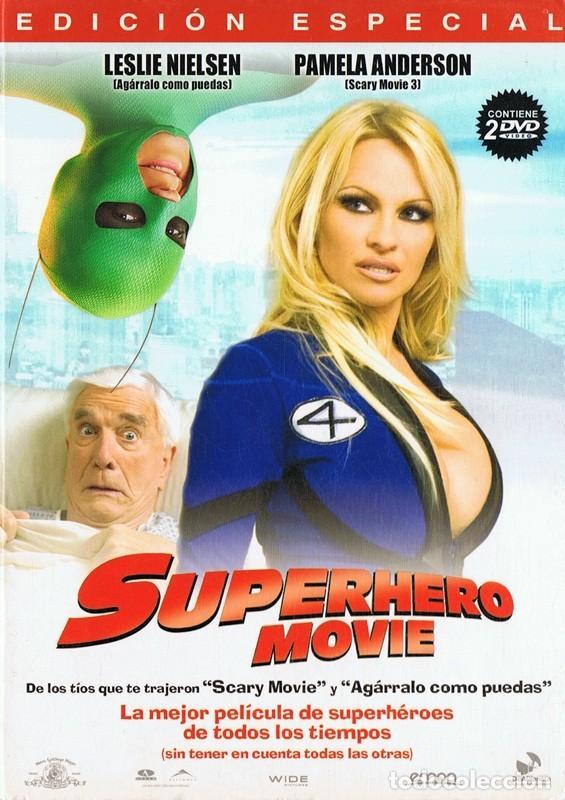SUPERHERO MOVIE LESLIE NIELSEN EDICIÓN ESPECIAL 2 DISCOS (Cine - Películas - DVD)