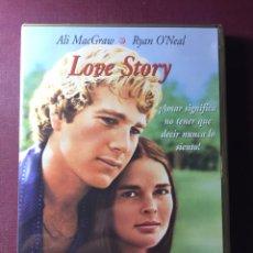 Cine: LOVE STORY,(DVD+LIBRETO+ 8 FOTOGRAFÍA DE LA PELÍCULA).. Lote 183626846