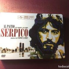 Cine: SERPICO,(EDICIÓN COLECCIONISTA 2DVD,ESTUCHE METÁLICO).. Lote 183629388