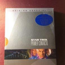 Cine: STAR TREK,PRIMER CONTACTO,(EDICIÓN ESPECIAL).. Lote 183629591