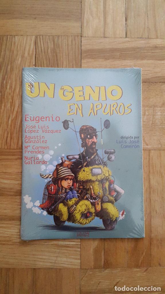 PELICULA DVD - UN GENIO EN APUROS - ANTONIO OZORES - JOSE LUIS LOPEZ VAZQUEZ - AGUSTIN GONZALEZ - (Cine - Películas - DVD)