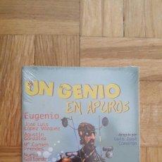 Cine: PELICULA DVD - UN GENIO EN APUROS - ANTONIO OZORES - JOSE LUIS LOPEZ VAZQUEZ - AGUSTIN GONZALEZ -. Lote 183656871