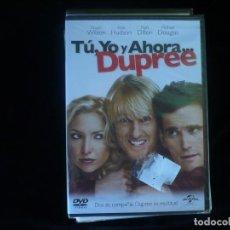 Cine: TU YO Y AHORA DUPREE - DVD NUEVO PRECINTADO. Lote 183809087