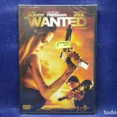 Cine: WANTED - DVD . Lote 183840468