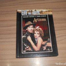 Cine: ARIZONA EDICION ESPECIAL DVD + LIBRO JAMES STEWART COMO NUEVA. Lote 183843391