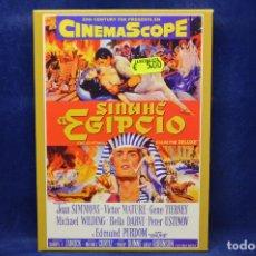 Cine: SINUHE EL EGIPCIO - DVD. Lote 183843451