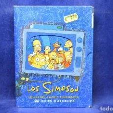 Cine: LOS SIMPSON -DVD CUARTA TEMPORADA . Lote 183900880