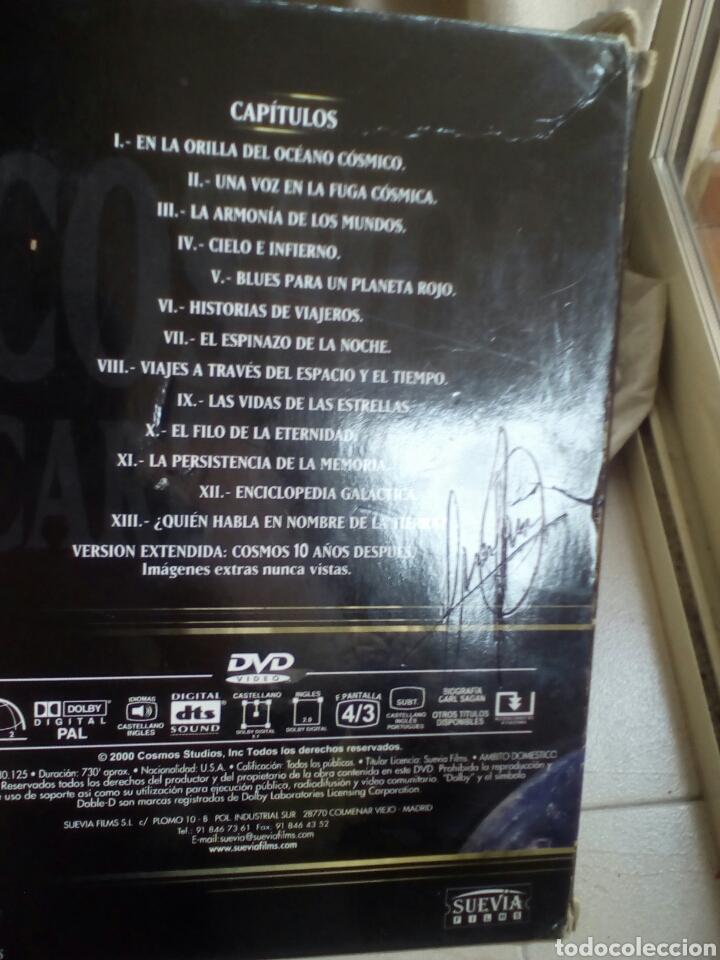 Cine: Cosmos. Carl Sagan. 7 DVD. Serie completa. - Foto 2 - 183903138