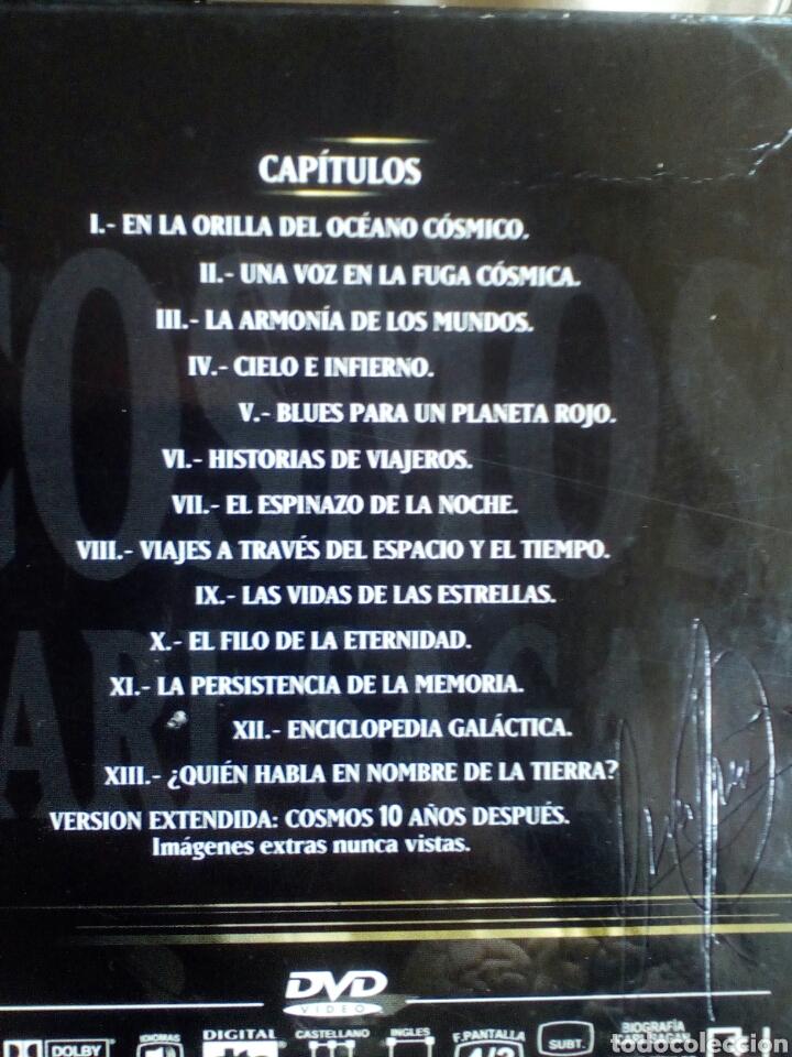 Cine: Cosmos. Carl Sagan. 7 DVD. Serie completa. - Foto 3 - 183903138