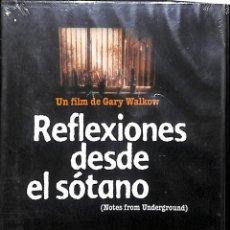 Cine: DVD REFLEXIONES DESDE EL SOTANO - GARY WALKOW. Lote 183909492