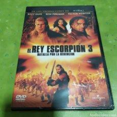 Cinéma: (PR9) EL REY ESCORPIÓN 3 - BATALLA POR LA REDENCION DVD PRECINTADO. Lote 183924287