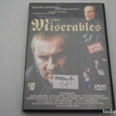 Cine: (1-B6) - 2 X DVD / LOS MISERABLES / GERAD DEPARDIEU, JOHN MALKOVICH. Lote 183994996
