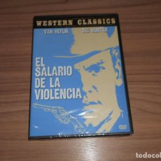 Cine: EL SALARIO DE LA VIOLENCIA DVD VAN HEFLIN TAB HUNTER NUEVA PRECINTADA. Lote 183995035