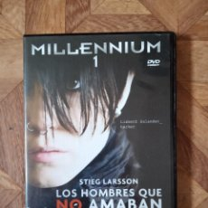 Cine: MILLENNIUM - LOS HOMBRES QUE NO AMABAN A LAS MUJERES. Lote 183995322