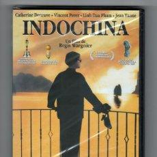 Cine: INDOCHINA - PELÍCULA ORIGINAL EN DVD NUEVA SIN ESTRENAR PRECINTADA. Lote 183995361