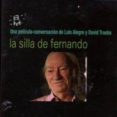 Cine: LA SILLA DE FERNANDO DVD (D. TRUEBA- 3.DVD) PON LA CÁMARA Y DEJA HABLAR A FERNANDO FERNÁN GÓMEZ. Lote 212826760