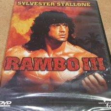 Cine: RAMBO III / SILVESTER STALLONE / DVD - UNIVERSAL-2001 / PRECINTADO.. Lote 184023818