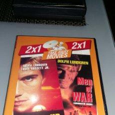 Cine: COVER UP (RESCATE) - MEN OF WAR (HOMBRES DE ACERO COMO NUEVA. Lote 184047425