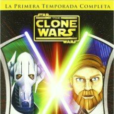 Cine: STAR WARS: THE CLONE WARS TEMPORADA 1 COMPLETA *** 22 EPISODIOS *** COLECCIÓN PRIVADA ***. Lote 184078281