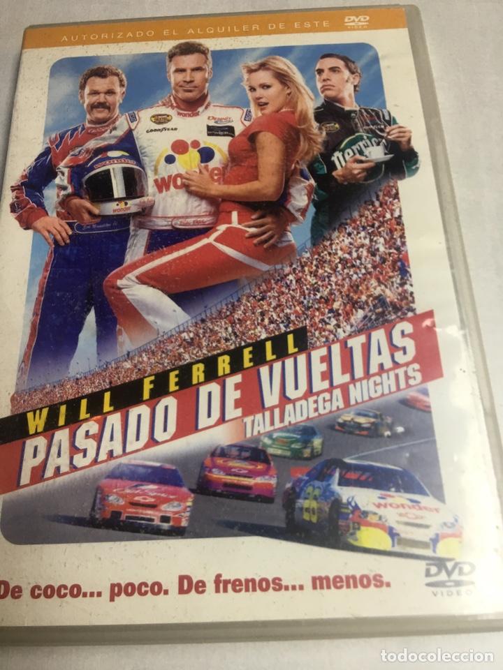 DVD PASADO DE VUELTAS - WILL FERRELL (Cine - Películas - DVD)