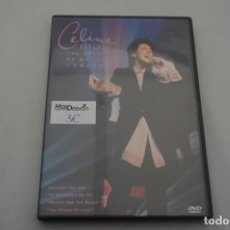 Cine: (1-B4) - 1 X DVD / CELINE DION / THE COLOUR OF MY LOVE CONCERT. Lote 184119980