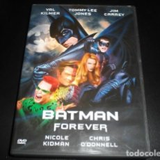 Cine: BATMAN FOREVER DVD CINE 1995 DC COMICS. CIENCIA FICCION FANTASTICO. ACCION. VAL KILMER NICOLE KIDMAN. Lote 184141195