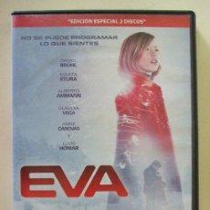 Cine: EVA - KIKE MAILLO DANIEL BRÜHL MARTA ETURA LLUIS HOMAR CINE DVD EDICIÓN ESPECIAL 2 DISCOS ESPAÑOL. Lote 184185131