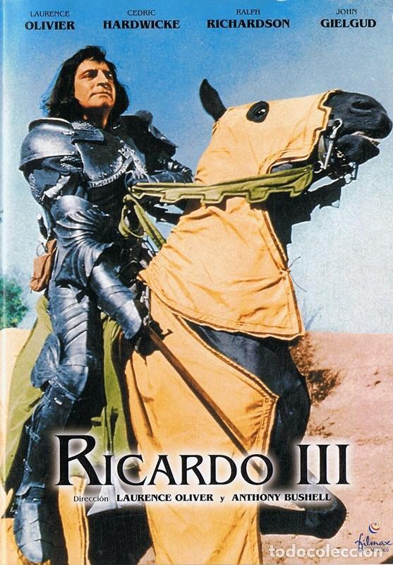 RICARDO III LAURENCE OLIVIER (Cine - Películas - DVD)