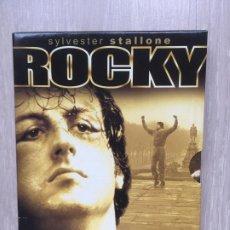 Cine: ROCKY / SYLVESTER STALLONE/ EDICION 25 ANIVERSARIO DVD . Lote 184253983