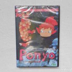 Cine: PONYO EN EL ACANTILADO - HAYAO MIYAZAKI - STUDIO GHIBLI COLLECTION - DVD - PRECINTADO - NUEVO. Lote 184255336