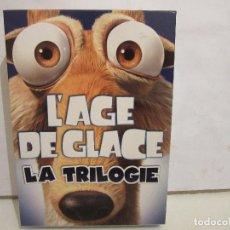 Cine: L´AGE DE GLACE - LA TRILOGIE - 3 X DVD - BOX - 2009 - FRANCIA - DVD PRECINTADOS - BOX PERFECTO. Lote 184330323