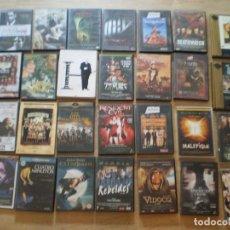 Cine: COLECCION DE 140 PELICULAS DVD. TERROR, ACCION, SUSPENSE, WESTERN. VER FOTOS. OCASION!!!!!!!!!. Lote 184345455