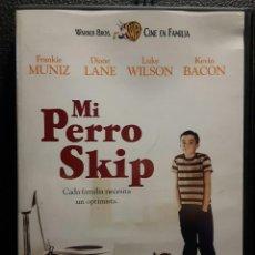 Cine: MI PERRO SKIP - DVD - ORIGINAL - DESCATALOGADA - INFANTIL - INFANTILES - DIANE LANE - FRANKIE MUNIZ. Lote 184353800