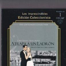 Cine: ATRAPA A UN LADRÓN - DVD EDICIÓN COLECCIONISTA - INCLUYE LIBRETO. Lote 184379493
