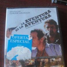 Cine: LA AVENTURA ES LA AVENTURA / LINO VENTURA / JOHNNY HALLYDAY / CLAUDE LELOUCH - 1972 - ENVIO GRATIS. Lote 184452452