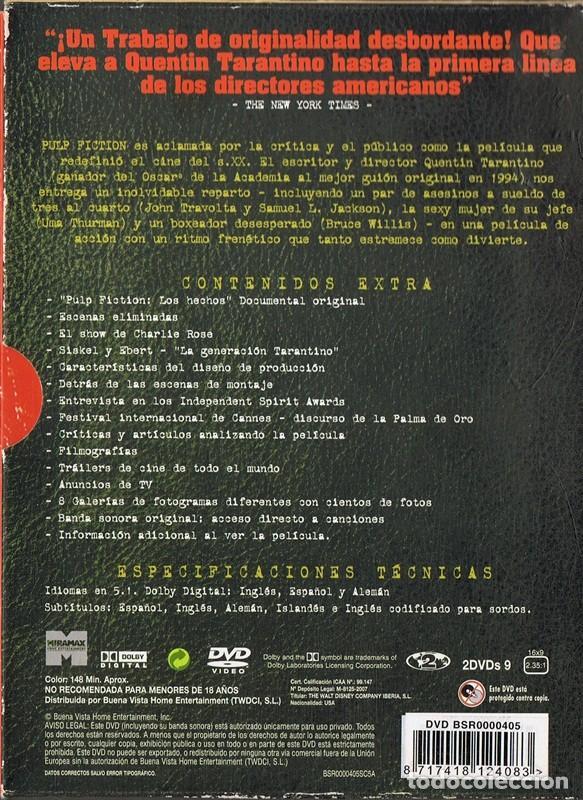 Cine: PULP FICTION EDICIÓN COLECCIONISTA - Foto 2 - 184461641