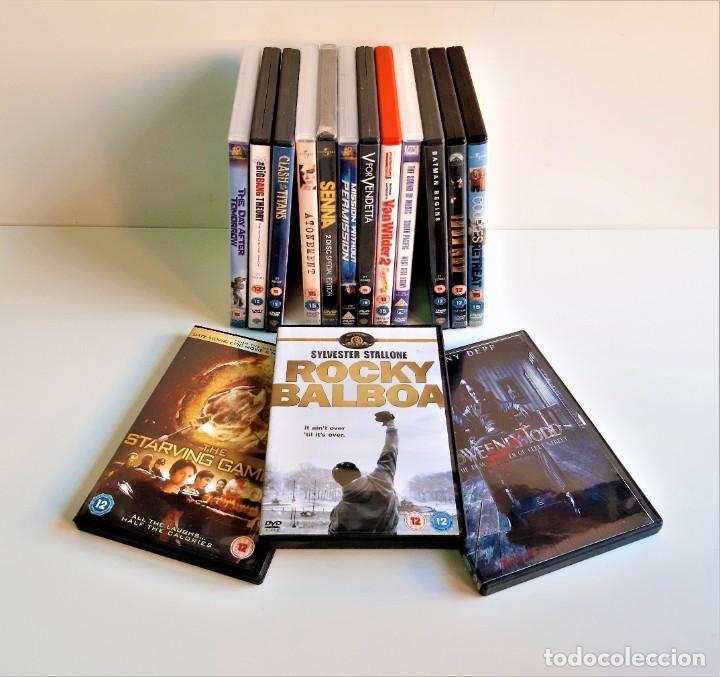 LOTE DE 15 PELICULAS DVD VARIAS (Cine - Películas - DVD)