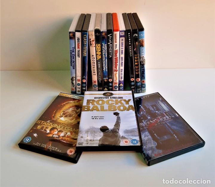 Cine: LOTE DE 15 PELICULAS DVD VARIAS - Foto 2 - 184491606