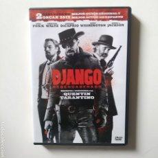 Cine: DJANGO DESENCADENADO.DVD.TARANTINO. Lote 184577458