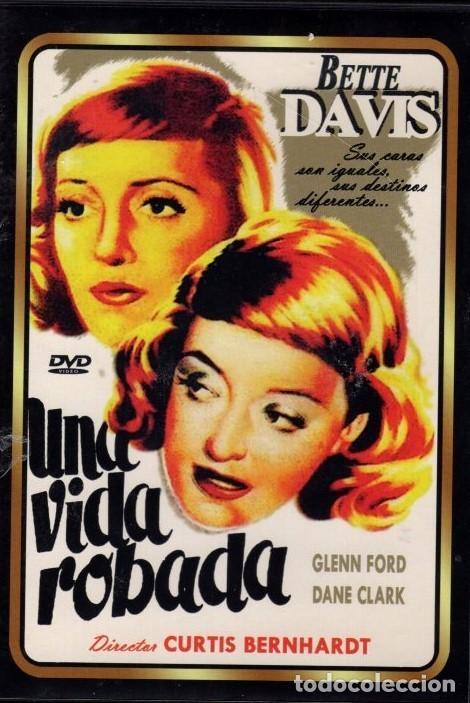 UNA VIDA ROBADA DVD (BETTE DAVIS) .ESTA HERMANA GEMELA NO PUEDE OLVIDAR A SU CUÑADO (Cine - Películas - DVD)