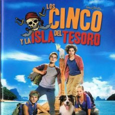 Cine: LOS CINCO Y LA ISLA DEL TESORO . Lote 184652586