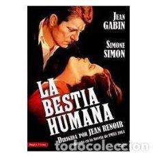 Cine: LA BESTIA HUMANA DVD (JEAN RENOIR) UNA HISTORIA DE TRENES Y UNA RELACION MALSANA.. Lote 40313682