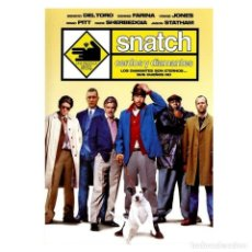 Cinema: SNATCH CERDOS Y DIAMANTES - DVD NUEVO Y PRECINTADO. Lote 257761700